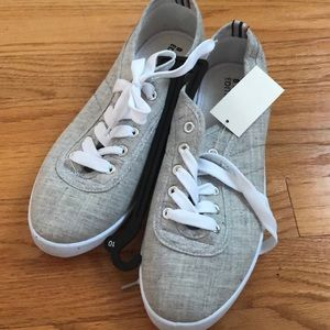 Grey Sneakers - Women's Size 10 (NWT)